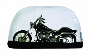 CarCapsule 8 Foot Indoor Inflatable Motorcycle Cover